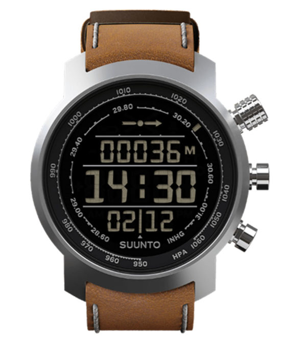 Suunto Elementum Terra Brown Leather SS018733000